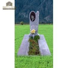 Памятник из мрамора - Роза   PM0020 — ritualum.ru