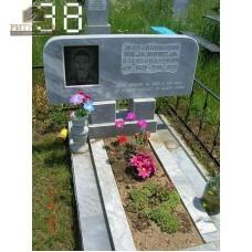 Памятник из мрамора стандарт 38 — ritualum.ru