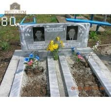 Памятник из мрамора 80 — ritualum.ru