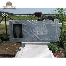 Памятник из мрамора 86 — ritualum.ru